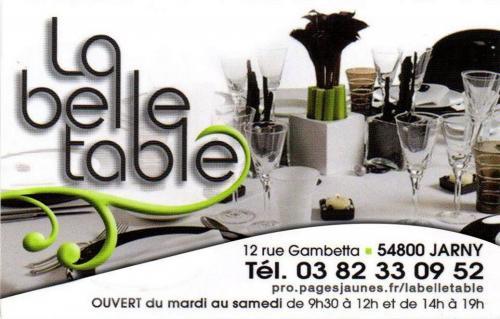 119 la belle table 600