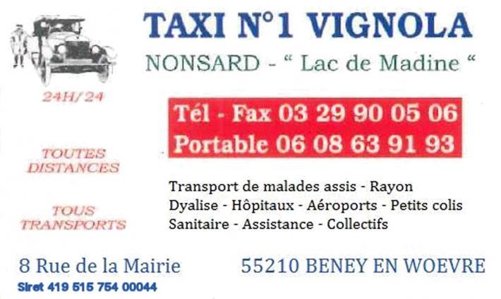 187 taxi n 1 vignola 600