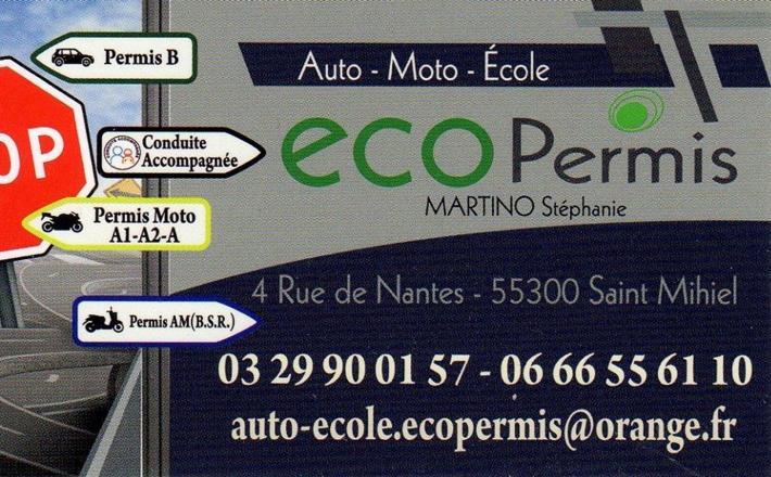 255 eco permis 600