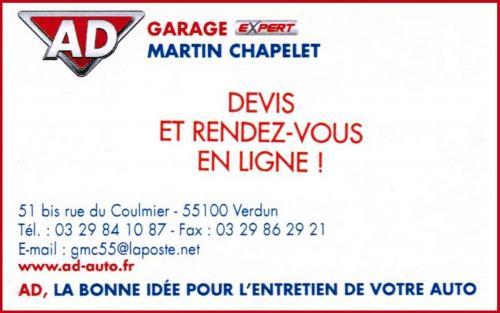 Ad garage martin chapelet