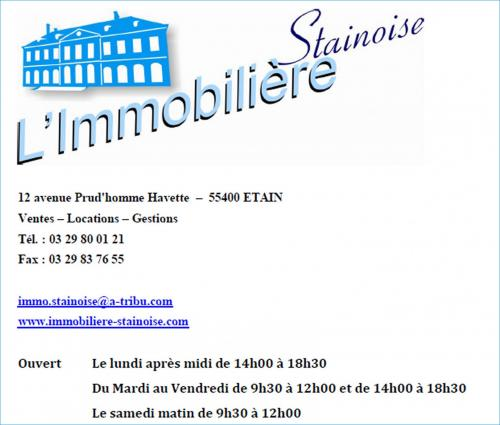 L immobiliere stainoise 1 600