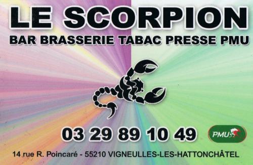 Le scorpion 600